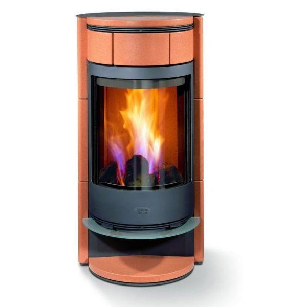 seiten einen freien blick auf die flammen erm glicht. Black Bedroom Furniture Sets. Home Design Ideas